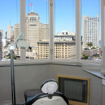 Panoramic views from your treatment chair!